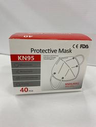 Mask 40pcs KN95 FFP2 4PLY CE EN149:2001