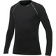 Woolpower Crewneck Merino base layer Black