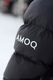 AMOQ Inferno Puffer Jacket Black