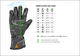 Sweep Glove GS200 Waterproof, Black/Fluo