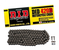 D.I.D 420D Chain+Connecting link (RJ)
