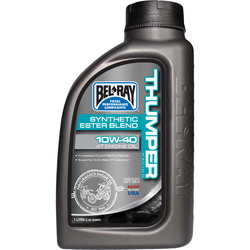 Bel-Ray Thumper Racing 10W-40 Synthetic Ester Blend 4T Engine Oil 1L