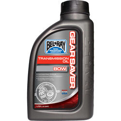 Bel-Ray Gear Saver 80W Transmission Oil 1L