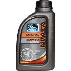 Bel-Ray V-Twin 20W-50 Mineral Engine Oil 1L