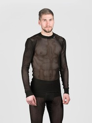 SVALA 100% Dry Stretch Mesh Shirt black