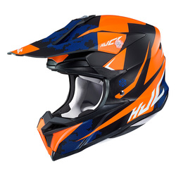 HJC  Hjälm I 50 Tona Svart/Orange MC7SF