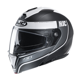 HJC Helmet I90 Davan Grey white MC10SF