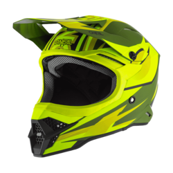 ONeal Helmet 3-serie Riff 2.0 Olive/Yellow Fluo