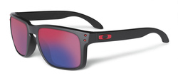 Oakley Holbrook Sunglasses frame matte black Lens positive red iridium