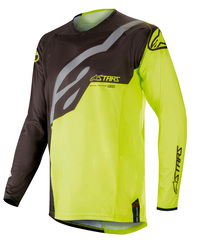 Alpinestars jersey Techstar, black/fl yellow