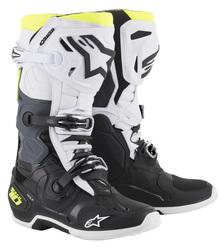 Alpinestars Boot Tech 10 Black/White/Fluoyellow