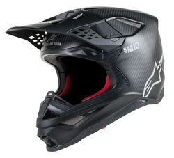 Alpinestars Helmet Supertech S-M10 Black/Carbon