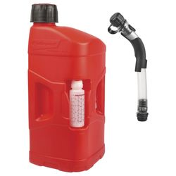 Polisport ProOctane 20 L with standard cap + 250ml mixer +Fill Hose with bender
