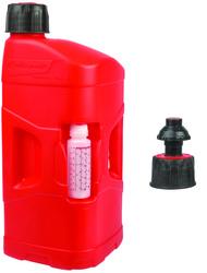 Polisport ProOctane 20 L with standard cap + 250ml mixer + quick fill valve