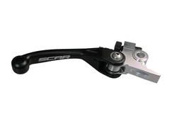 Scar Unbreakable Pivot Brake Lever - BREMBO/Ktm/Husqvarna/Sherco Black Color