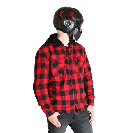 Sweep Shirt kevlar Manitou Red/Black