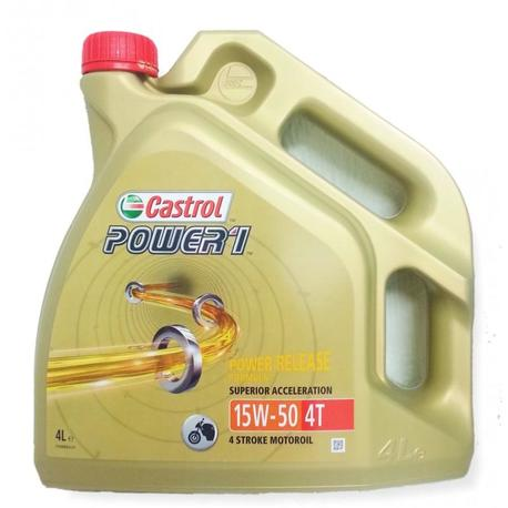 Castrol Power 1 4T 15W-50 (GPS 4 L