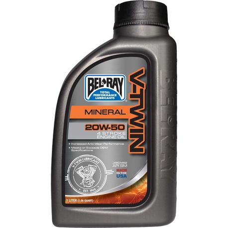 Bel-Ray V-Twin 20W-50 Mineral Engine Oil 1L