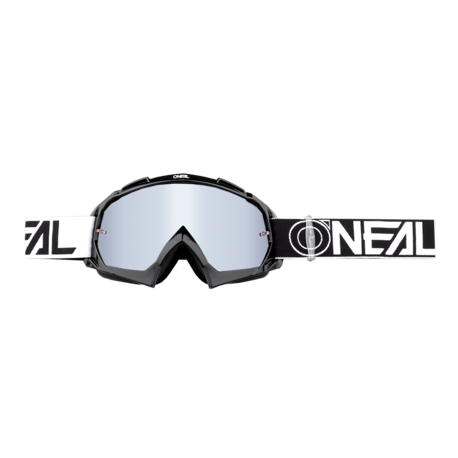 Oneal Goggles B-10 Two Face Black/Silvermirror