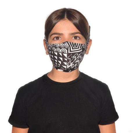 BUFF Filter Facemask Junior Bawe Black