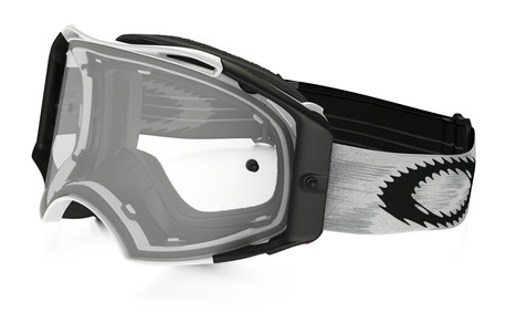 *Oakley Goggles Airbrake MX Matt white w/ Clear
