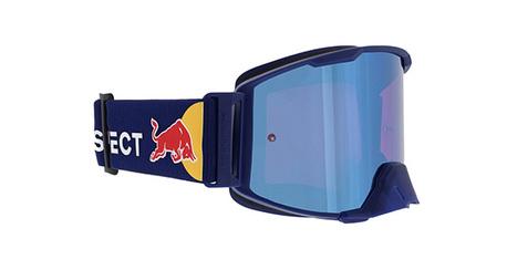 Spect Red Bull Strive MX Goggles dark blue/blue flash/ brown/blue mirror S.2
