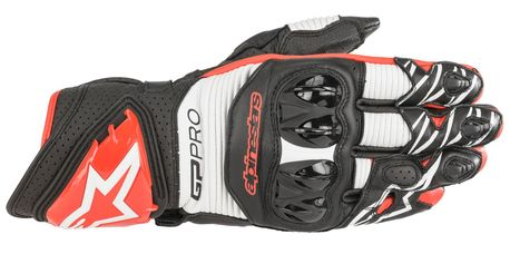 Alpinestars Gloves GP Pro R3 Black/White/Red