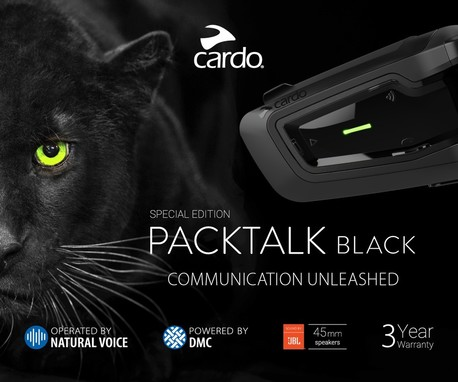 Cardo Packtalk Black