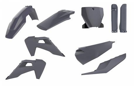 Polisport plastic kit TC/FC 19- Nardo grey